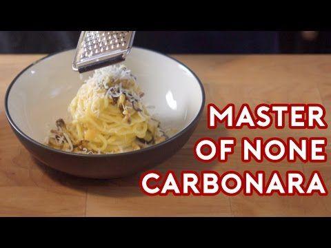 Spaghetti Carbonara inspired by Master of None — Binging With Babish