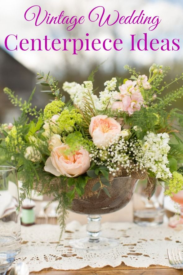 850 best rustic wedding flowers images on pinterest rustic wedding vintage wedding centerpiece junglespirit Choice Image