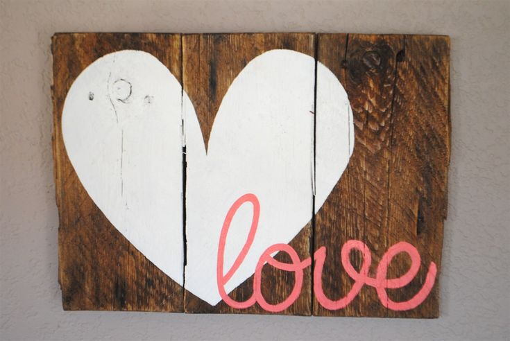 Love Pallet Signs   Jane