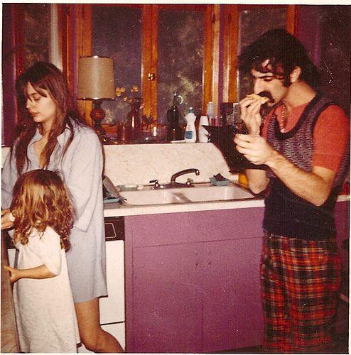 Moon Unit, Gail & Frank Zappa | Flickr - Photo Sharing!