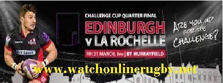 Edinburgh vs La Rochelle