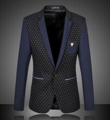 NEW! Men's Casual Suit Jacket Blazer