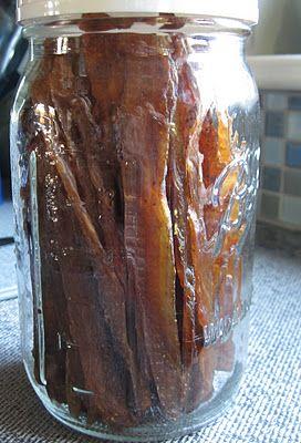 Chicken jerky: a recipe - Adventures of the Kitchen Ninja (a Vermont food blog)