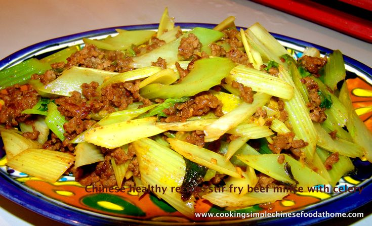 The 25 best stir fry celery image ideas on pinterest a simple healthy chinese recipe stir fried beef mince with celery forumfinder Image collections