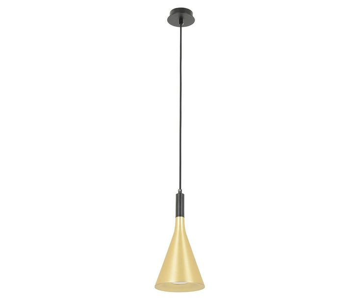LEDlux Canteen Dimmable Pendant in Brass/Black