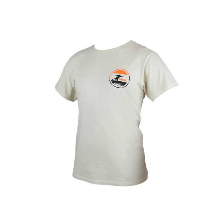 Proclaim your love of the game even when not on the course with a Dude Arden Cotton Tee. Stylish and comfortable, the special chest and back logo is sure to draw attention to and proclaim your love of the disc. Made from 100% cotton, comes in off white, with fold over labels. Shop now: https://www.dudeclothing.com/collections/men/products/arden-cotton-tee?variant=25102220041