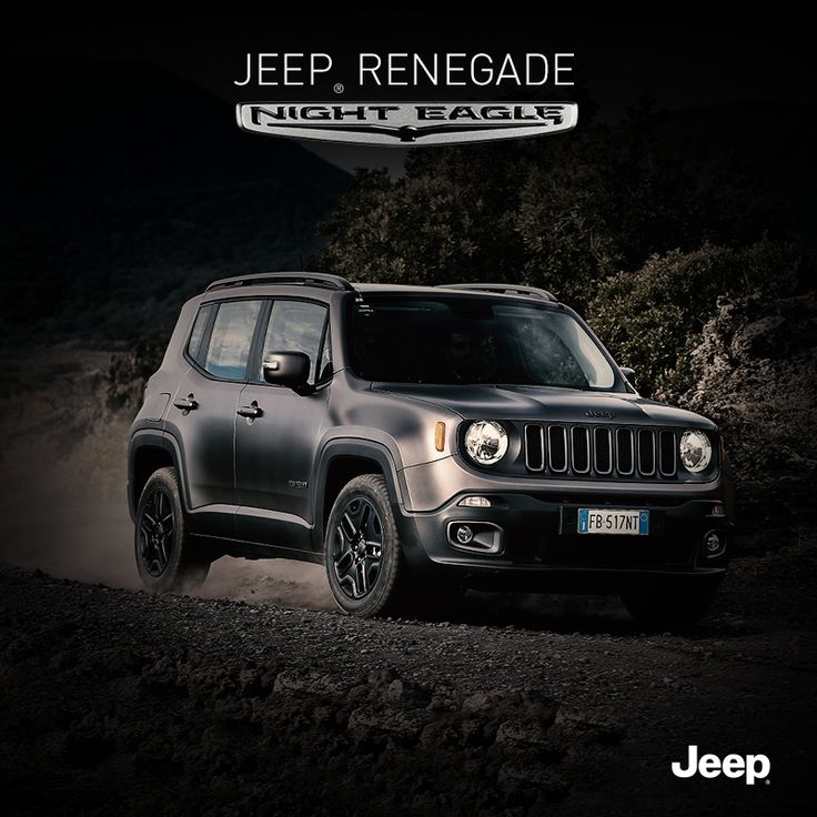 Pokonaj mrok nowym Jeepem Renegade Night Eagle. #JeepPeople #JeepRenegade