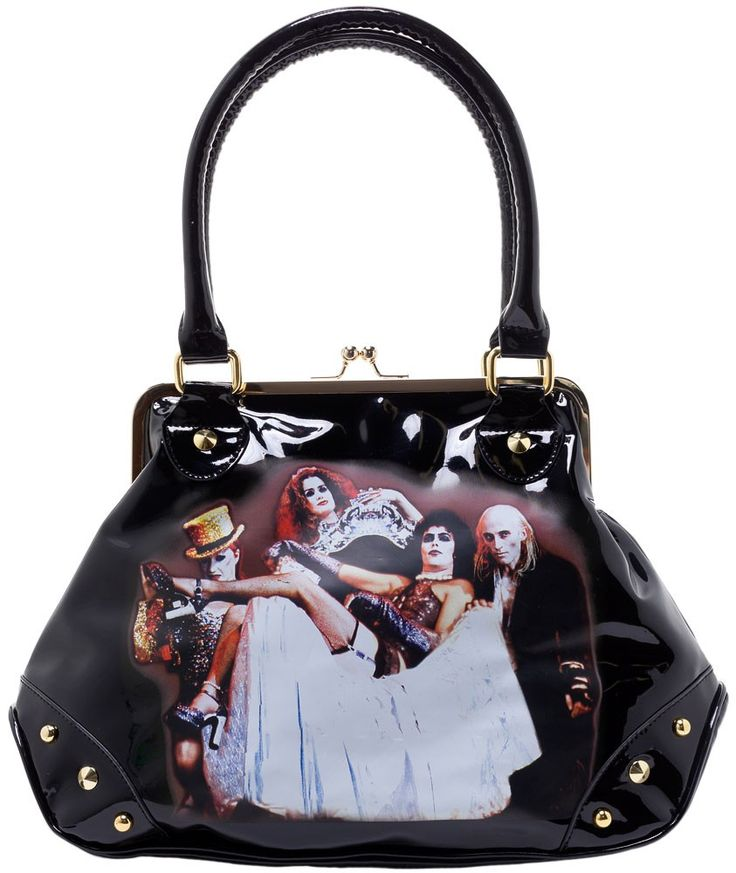 ROCK REBEL ROCKY HORROR CAST HANDBAG
