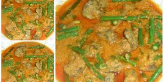 Resep Gulai Ati Ampela Ayam Dan Kacang Panjang Khas Padang Gulai Kacang Resep Masakan