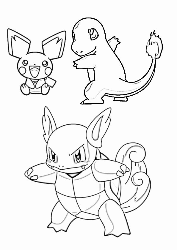 Squirtle Pokemon Coloring Page Best Of Pokemon Squirtle ...