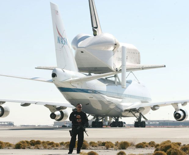 space shuttle landing white sands new mexico - photo #17