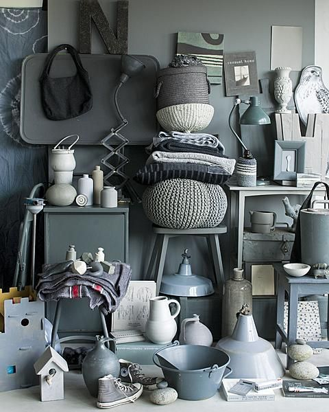 all gray everything.