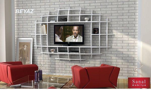 MDF YENİ Elips TV Ünitesi ve Kitaplık ürününü, %36 indirim cazip taksit seçenekleri ve hepsikampanyali.com farkıyla hemen satın alın! MDF YENİ Elips TV Ünitesi ve Kitaplık Beyaz MDF_yeni_elips_tv_unitesi,