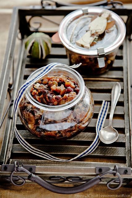 Quince Hazelnut Mincemeat