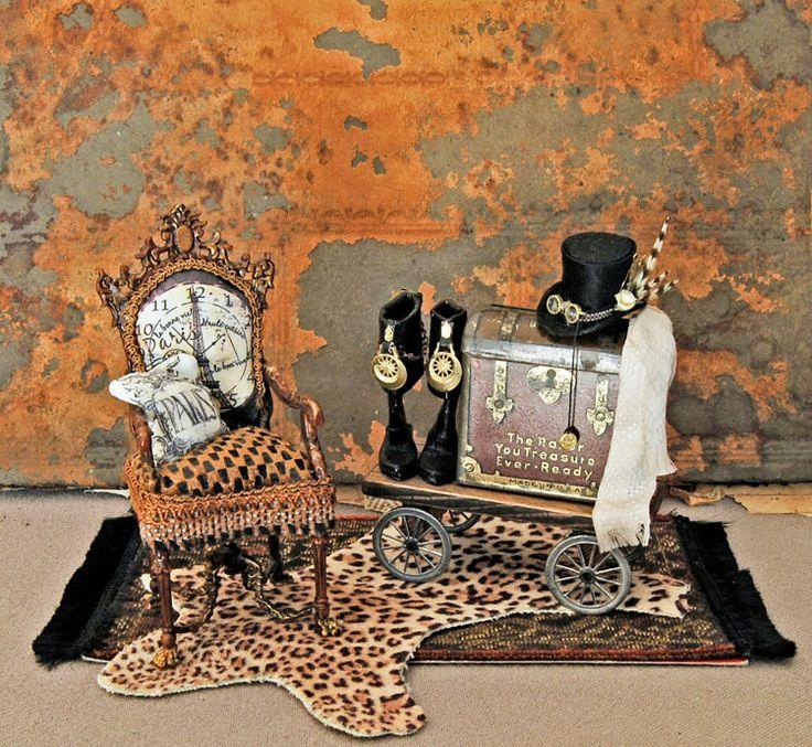 Dollhouse Miniatures Texas: 17 Best Images About Miniature Steampunk On Pinterest