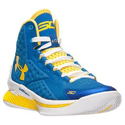 <p>One of the NBA's hottest point guards, Stephen Curry of the Golden State Warriors, is finally getting his own shoe. The Curry One is packed with some of Under Armour's most innovative technologies for an on-court sneaker that can stand up to one of the quickest players in the league. </p><p>Boasting a new Anaform upper, these sneakers hug the foot for a just-right fit, while also offering plenty of breathability. The adaptive Charged Cushioning system provides a plush feel, ensuring your…