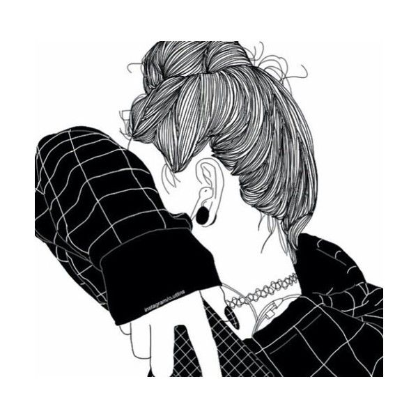 We Heart It ❤ liked on Polyvore featuring doodles, drawed, fillers and outline