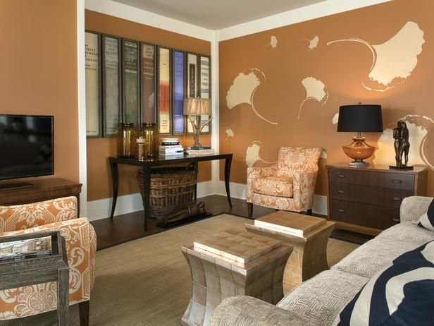 17 Best images about Orange and Brown Room on Pinterest  Orange living rooms, Brown living ...