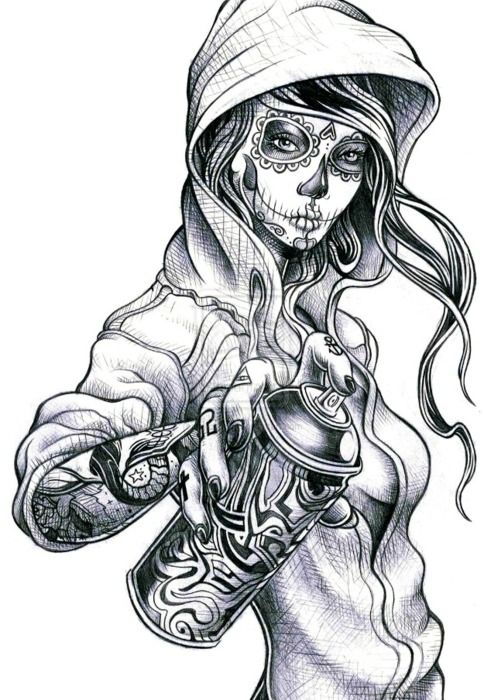 Ghosts in addition 6881436 further Feminine Skull Tattoos further  moreover Evil Skull Tattoo Designs. on scary ghost demons