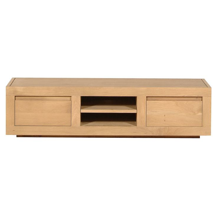 Ethnicraft NV - Oak Flat TV Cabinet - Lekker Home - 1