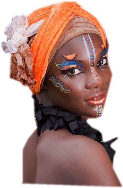femme africaine Plus