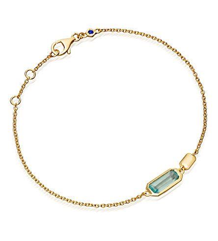 ASTLEY CLARKE - 18ct gold vermeil aqua bracelet | Selfridges.com