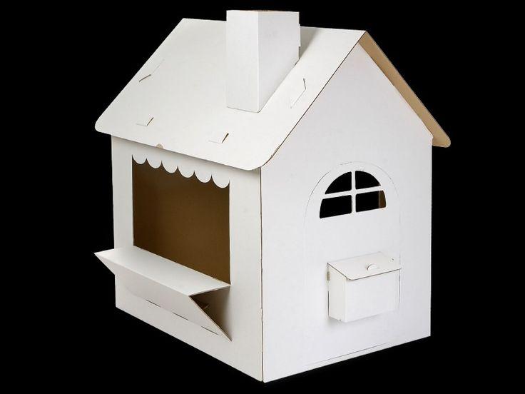 Tektoy kartonnen speelhuis de Luxe (house7706)
