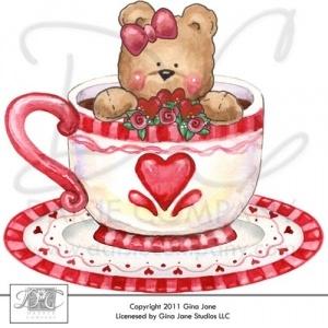 valentine hearts borders clip art