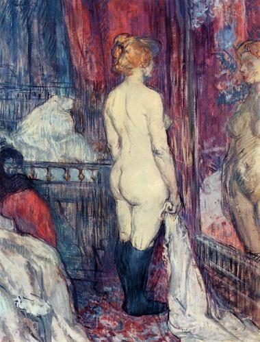 Toulouse-Lautrec, Nu devant un miroir, 1897