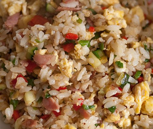 Perfect fried rice in a frying pan - even on an electric range or hotplate. This recipe was great