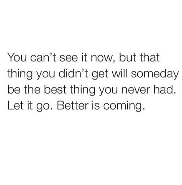 Better is coming.