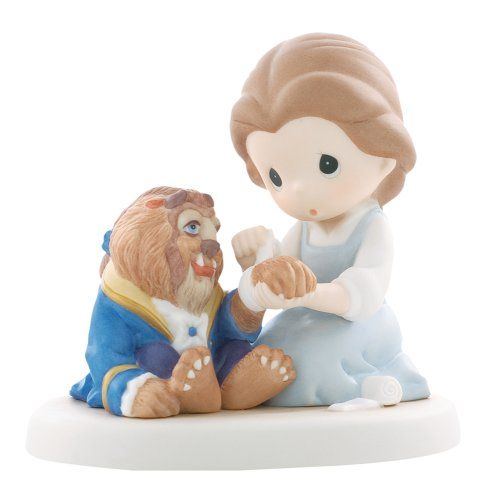 """Precious Moments Disney Collection """"Friends Share Caring Hearts""""  Figurine"""