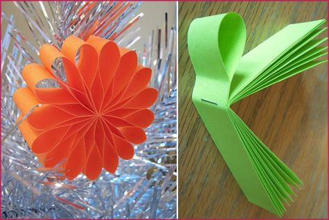 *Very Pretty* DIY Paper Ornaments WPepper Design Blog: Whether you're looking for the perfect way to use up left over scrapbooking paper, an easy DIY project for the kids or how to add a special handmade touch to the holidays, paper ornaments are fun and easy to make! (Follow the links to go to the sites so you can make your own ornaments. Lots & Lots of paper ornaments.)