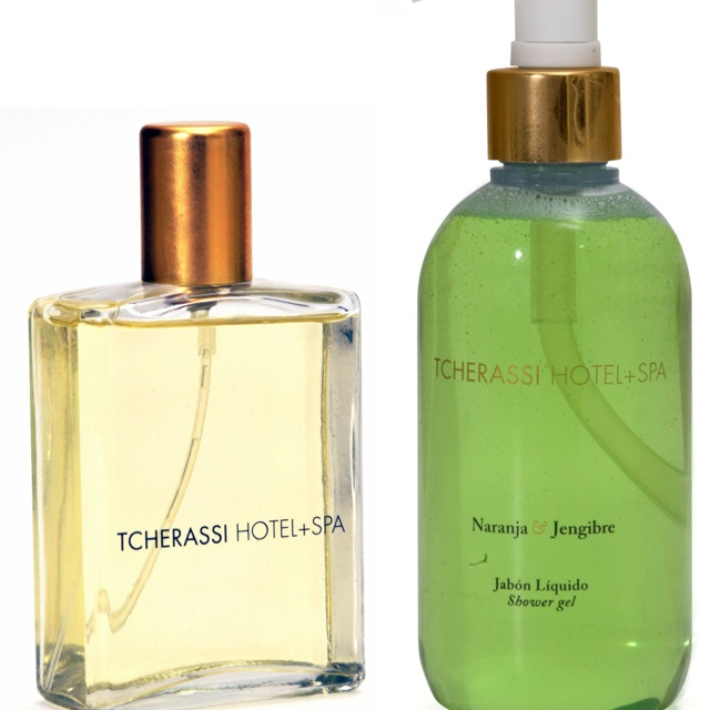 Tcherassi hotel and spa products