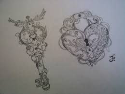 locket and key tattoos - Google Search @fiance9
