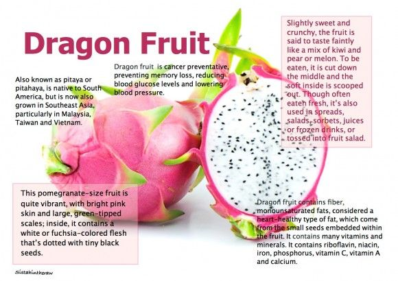dragon fruit facts - Google Search