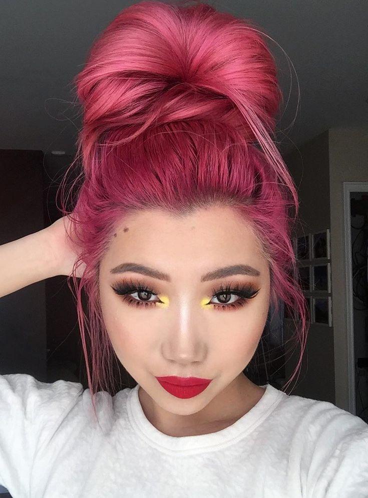 beautiful arctic fox hair dye