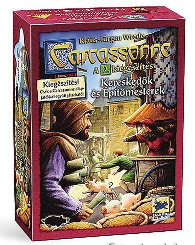 Carcassonne - 2 Kereskedők és építőmesterek társasjáték - Szellemlovas társasjáték webshop