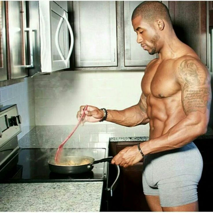Follow me here at Pinterest (MyPhotoStar.com) for more eye catching pins! Sexy when men can cook .....especially black-men.  Hey ladies ....show your love; share one of the HOTTEST images shown right here on Facebook, Twitter and Google+ to your friends.