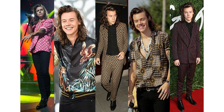 Il déclenche l'hystérie collective chez la génération millénium. Harry Styles, le chanteur des One Direction, adoubé par les créateurs, affûte son style mode de saison en saison. Designers favoris ? Saint Laurent par Hedi Slimane, Gucci ou Calvin Klein. Focus sur ses meilleurs looks.