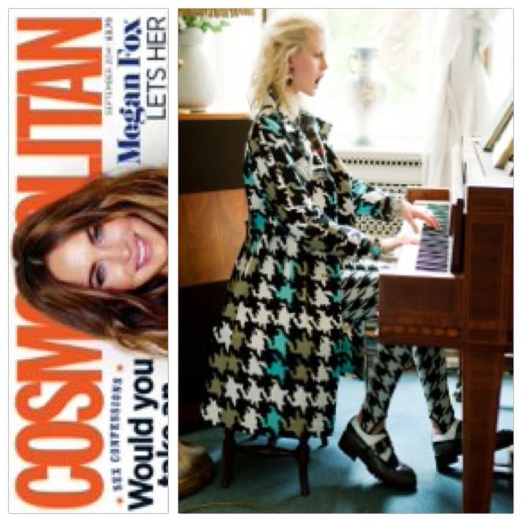 Cosmopolitan UK September issue - Tak.Ori Made in Italy leggings FW14