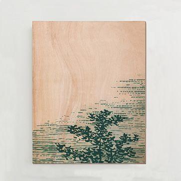 Birch Print - Tree Top I