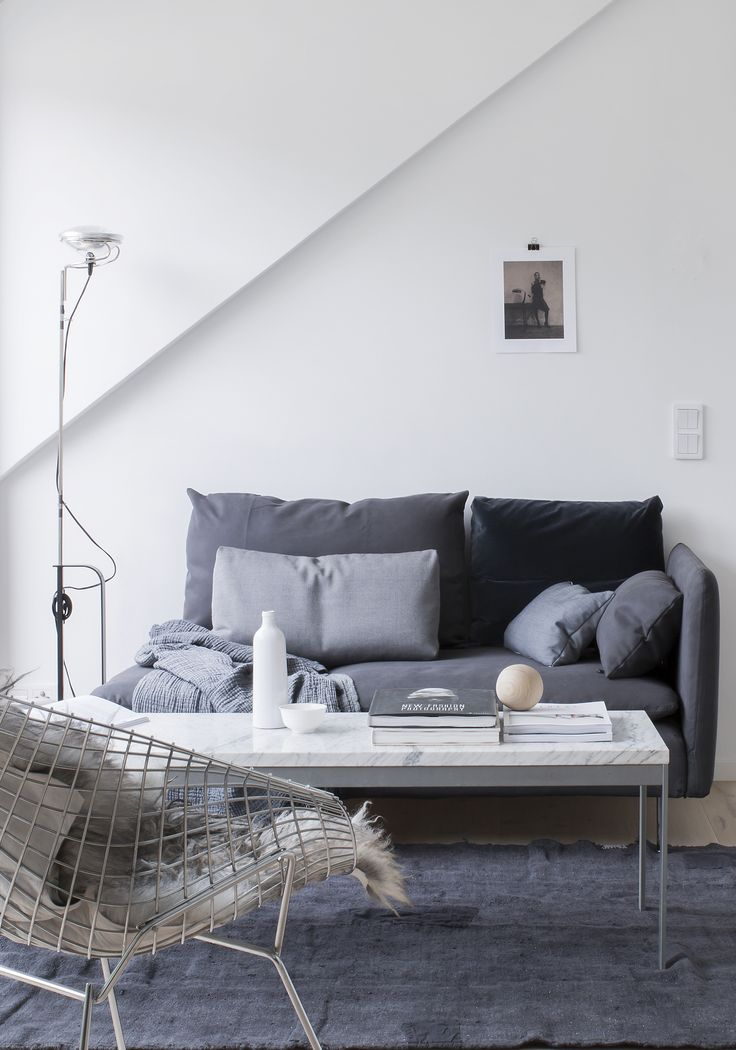Compact living room. Styling Pella Hedeby for Lenca Properties