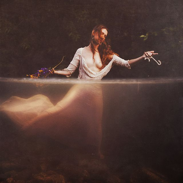Brooke Shaden, Re-imaging Ophelia 3 (Her Obstruction), 2010