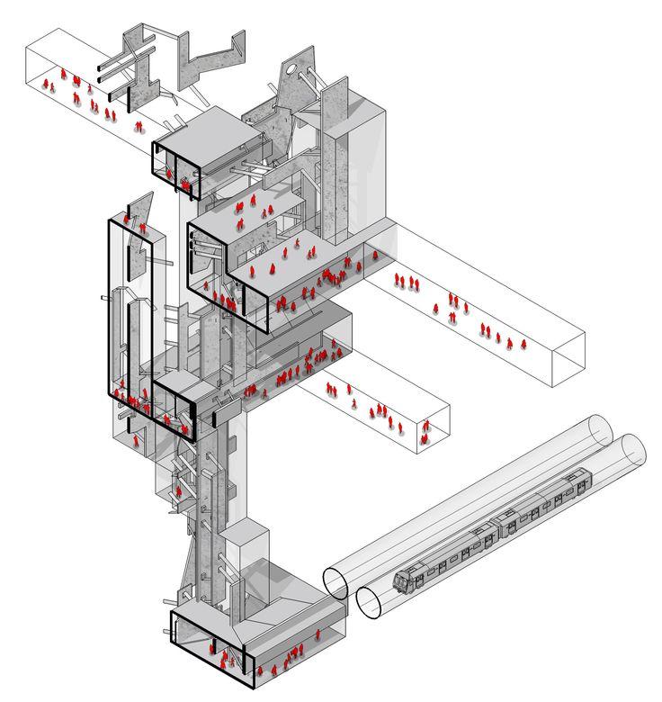 #sectional #isometric