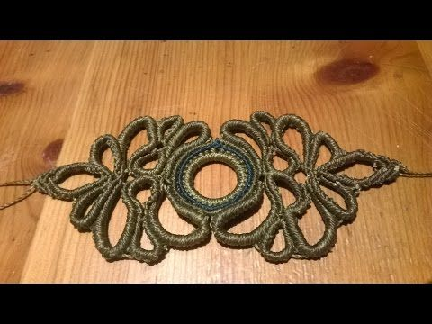 Star Flower Bracelet Tutorial by Macrame School. Please watch all Micro Macrame Bracelet Tutorials here: http://goo.gl/4bRiZs Here you have a lot of choice o...