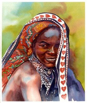 Umbararo girl Blue Nile- Sudan
