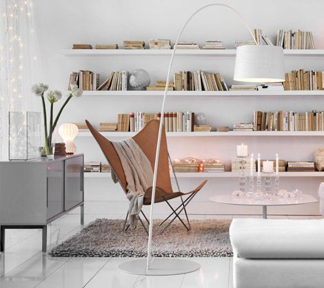 Elegant shelves solution