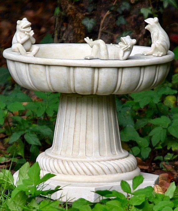 Frog Bird Bath Garden Ornament Via Garden Ornaments Direct