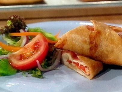 Salami and Cheese Rolls: Stromboli